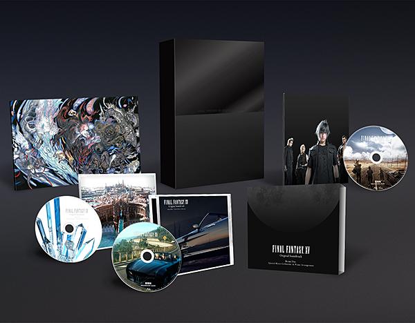 FINAL FANTASY XV Original Soundtrack【Blu-ray Disc初回生産限定特装盤/映像付サントラ】