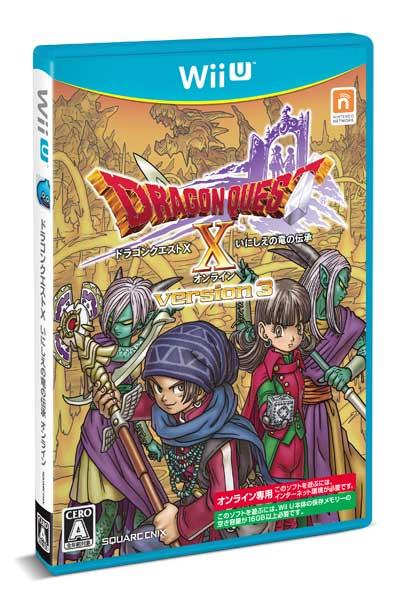 (Wii U)ドラゴンクエストX いにしえの竜の伝承 オンライン